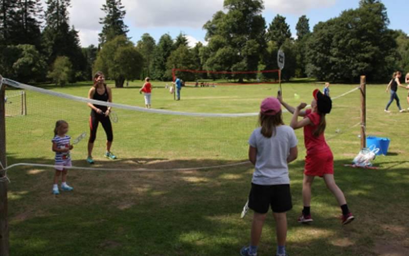 Summer of Sport volunteer
