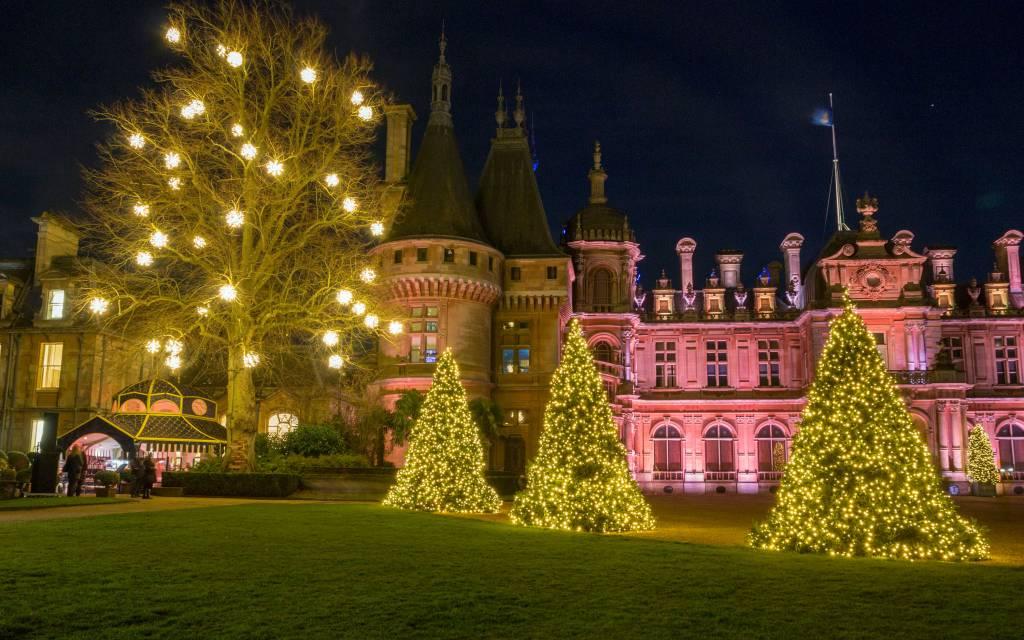 2019 Christmas.Christmas Waddesdon Manor