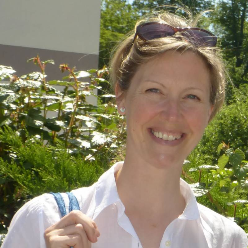 Photograph of illustrator Bek Cruddace