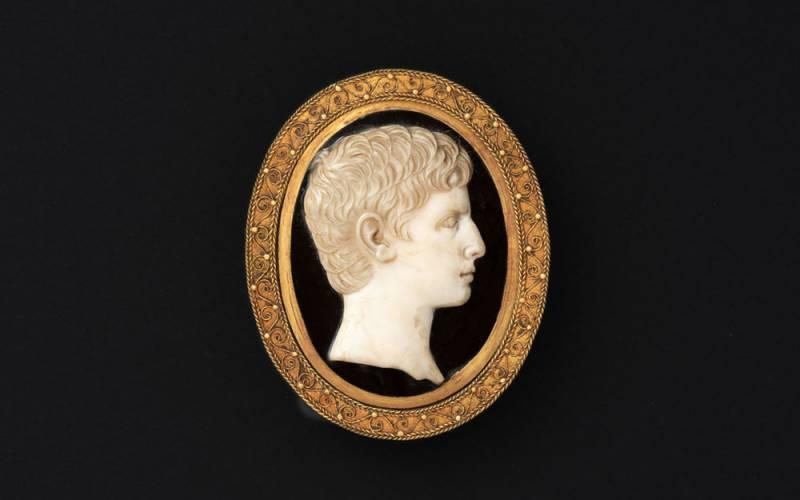Cameo 1 BC-4 AD, 100 AD-200 AD (mount)