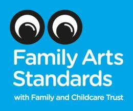 Family arts standards logo