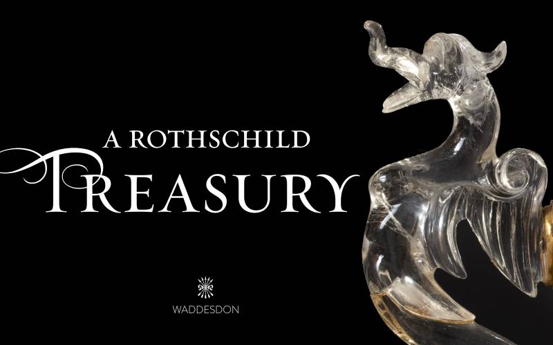 Rock Crystal Vase crop with A Rothschild Treasury title