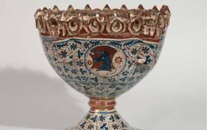 Unknown, Basil pot (Alfabeguer), 1440-1470