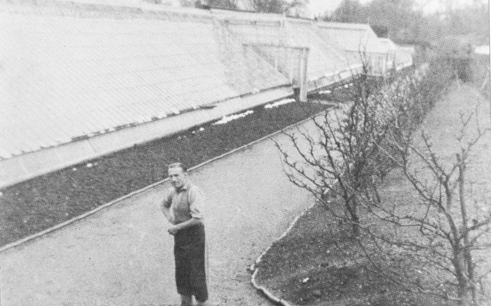Archive photo of the fruit range, at 400 ft said to be one of the longest in the country