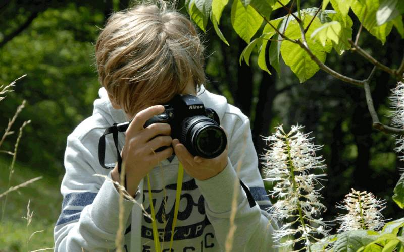 Photography course for children and teens