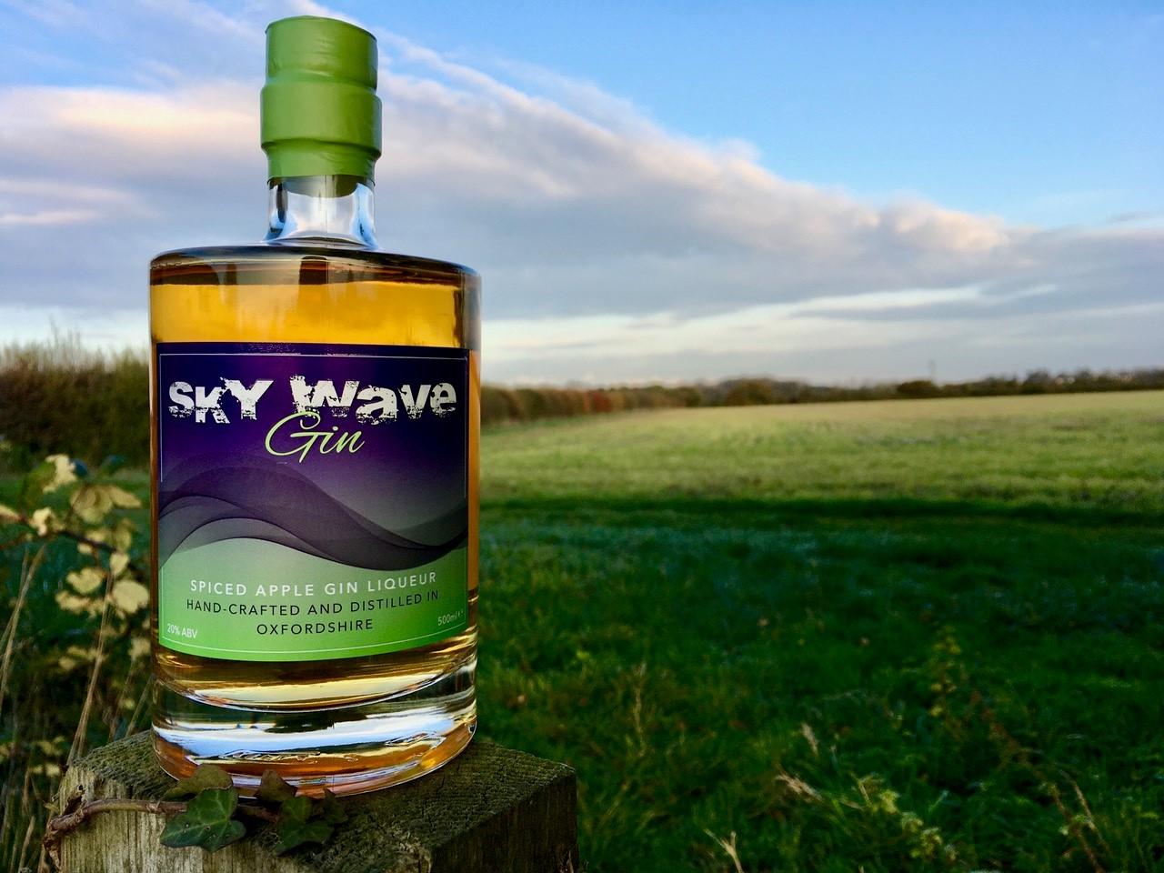 Sky Wave Gin Winter Edition Spiced Apple Gin Liqueur