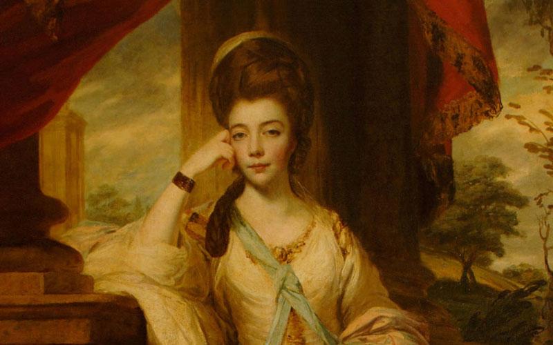 Duchess of Cumberland by joshua reynolds