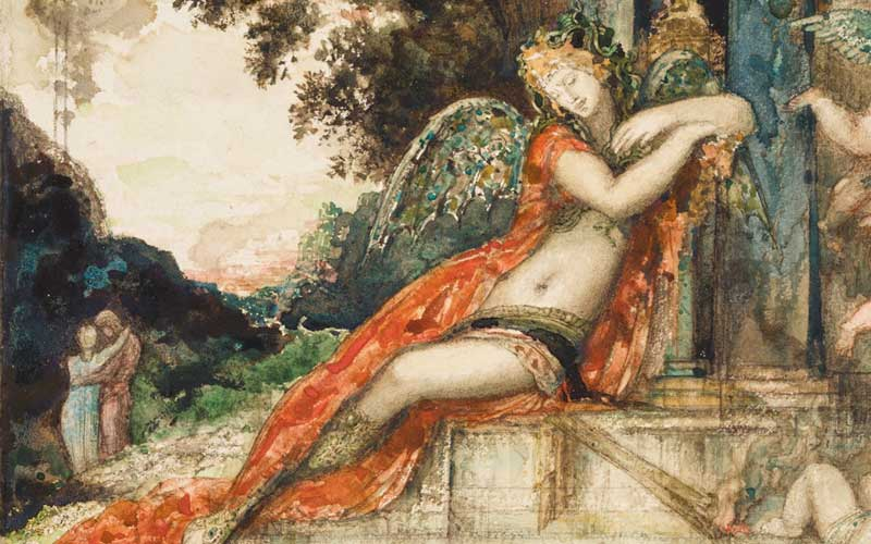 Detail of discord by gustave moreau