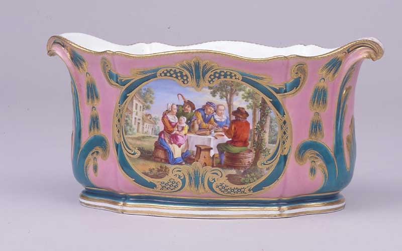 Sevres porcelain manufactory planter 1761