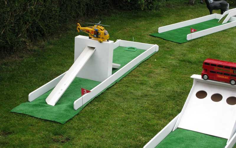 Wacky golf course