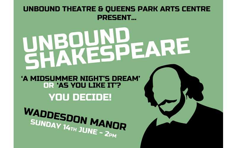 Unbound theatre present shakespeare