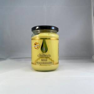 Chiltern real mayonnaise has been produced with award winning cold pressed rapeseed oil.