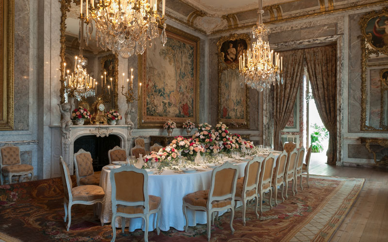Dining Room at Waddesdon Manor