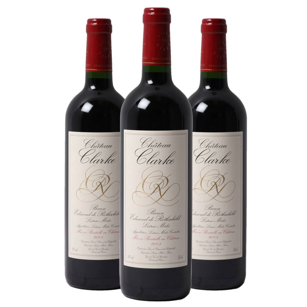 Chateau clarke three bottle case