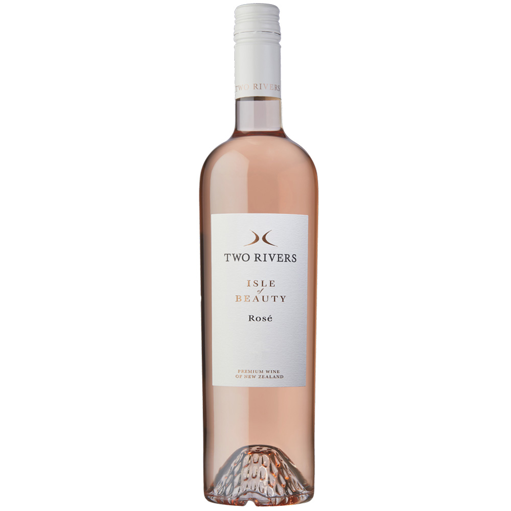 Two Rivers Isle of Beauty Rose single bottle