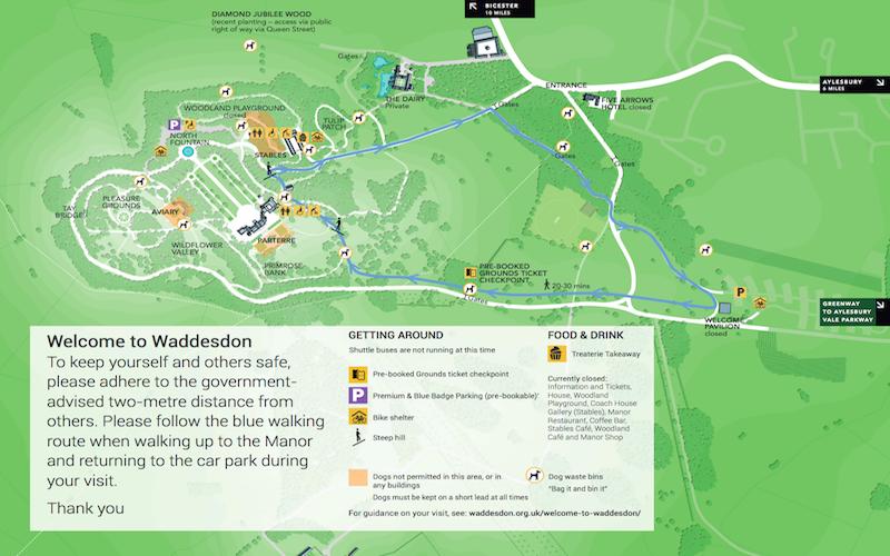 Screenshot Waddesdon-Map-June-2020