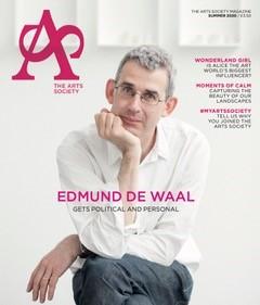 Arts Society magazine cover