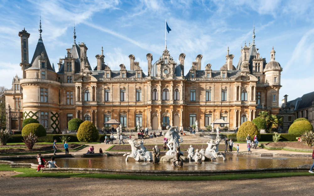 Waddesdon Manor south front