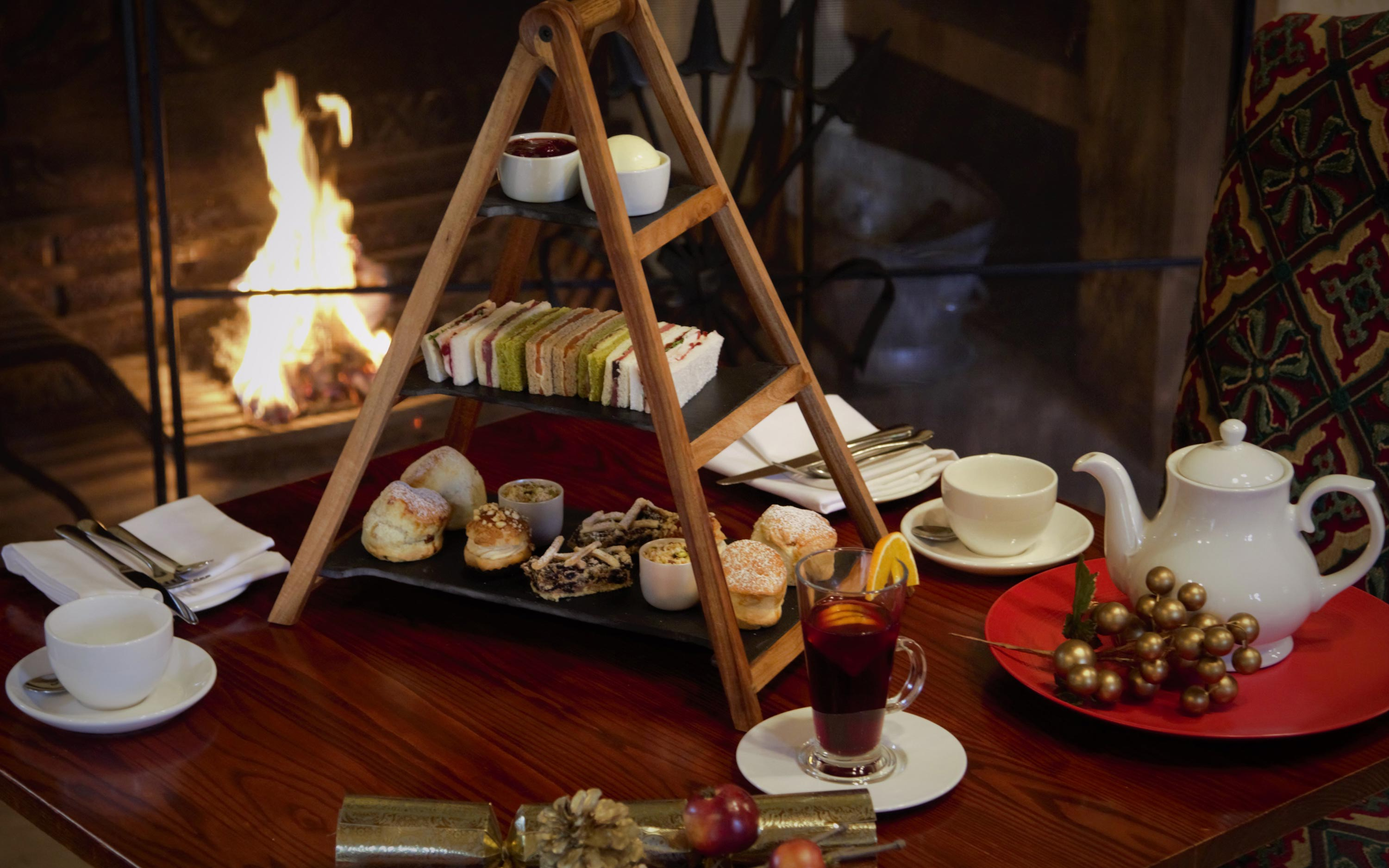 Festive afternoon tea at the Five Arrows