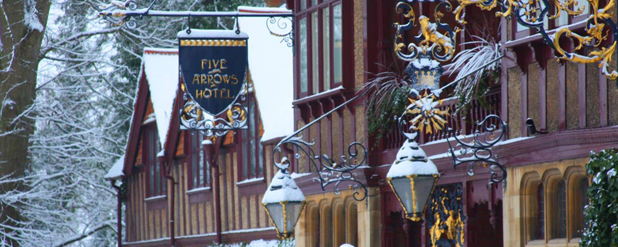 Five arrows hotel in winter